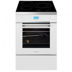 CUISINIERE INDUCTION 60CM BLANCHE