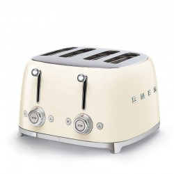 TOASTER 4 TRANCHES CREME ANNEE 50