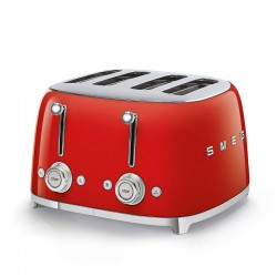 TOASTER 4 TRANCHES ROUGE