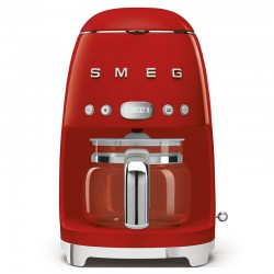 CAFETIERE ANNEES 50 ROUGE