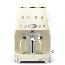 CAFETIERE ANNEES 50 CREME