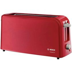 TOASTER ROUGE BOSCH 1 FENTES 900W COMPAC